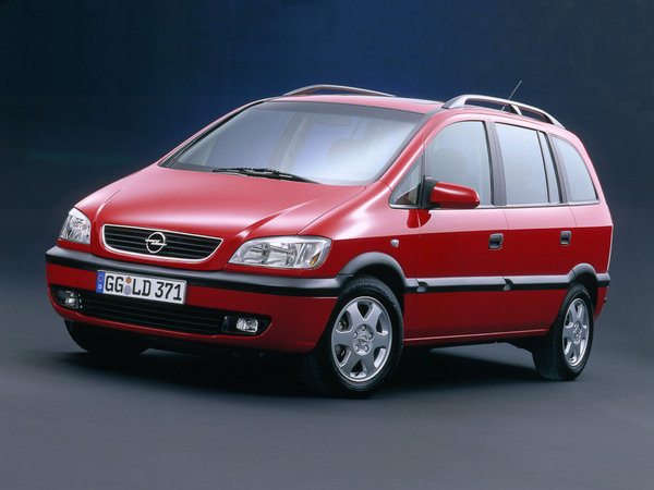 описание, характеристики, Opel Zafira, Опель Зафира