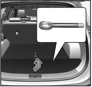 Буксирный крюк Hyundai Santa Fe