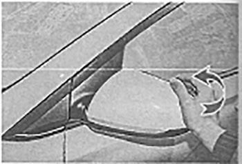 Кронштейн зеркала Hyundai Solaris