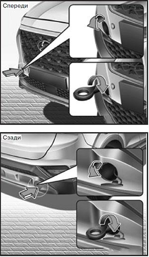 Крышка отверстия бампера Hyundai Santa Fe