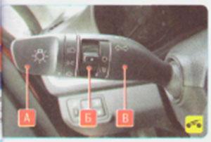Переключатель наружного освещения Hyundai Solaris