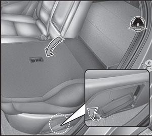 Рычаг складывания Hyundai Tucson TL