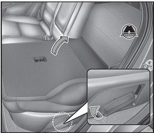 Спинка сидений Hyundai Tucson TL