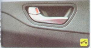 Внутренняя ручка Hyundai Solaris