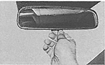 ркало заднего вида Hyundai Solaris