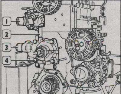схема двигателя iveco daily