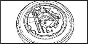 Запасное колесо JAC S3