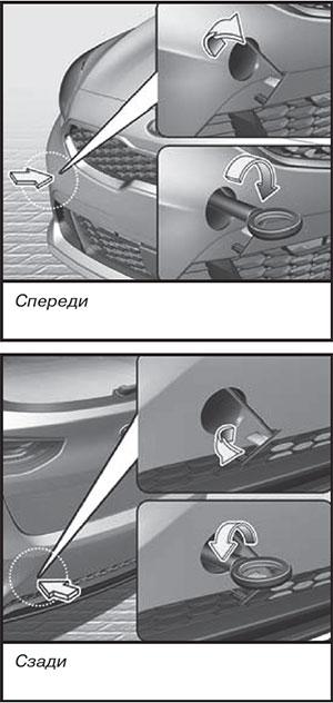 Буксирный крюк Kia Ceed / ProCeed