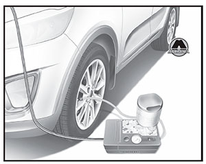 Tire Mobility Kit KIA Sorento Prime