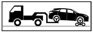 Буксировочная тележка Lexus NX
