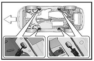 Плоская платформа эвакуатора Lexus NX