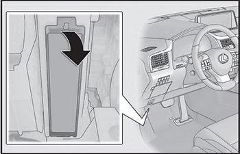 Приборная панель Lexus RX 200t