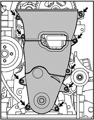 Ремень привода ГРМ Lifan 530