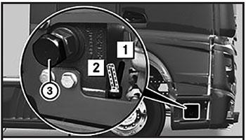 Насос опрокидывающего механизма кабины Mercedes Actros с 2012 года