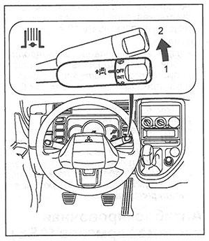 Индикатор горного тормоза Mitsubishi Fuso Canter