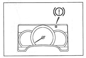 Индикатор стояночного тормоза Mitsubishi Fuso Canter