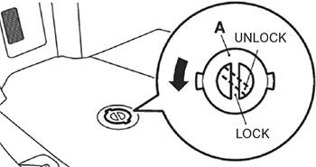 Крышка ниши запасного колеса Mitsubishi Pajero Sport
