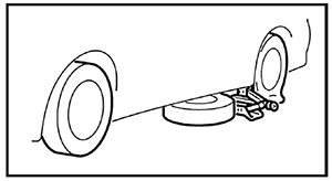 Запасное колесо Mitsubishi Eclipse Cross