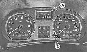 Информационный дисплей Nissan Terrano