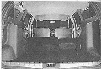 Левая спинка сидений Nissan Terrano