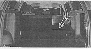 Правая спинка сидений Nissan Terrano