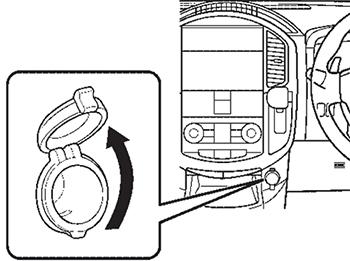 Электрическая розетка Nissan Lafesta
