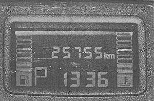 Указатель уровня топлива Nissan Terrano
