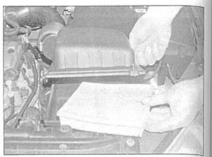 Фильтрующий элемент Peugeot 206