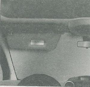 Полка над ветровым стеклом Peugeot Partner