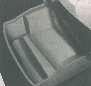 Выдвижные ящики под сиденьями Peugeot Partner