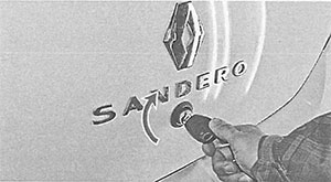 Крышка багажника Renault Sandero 2