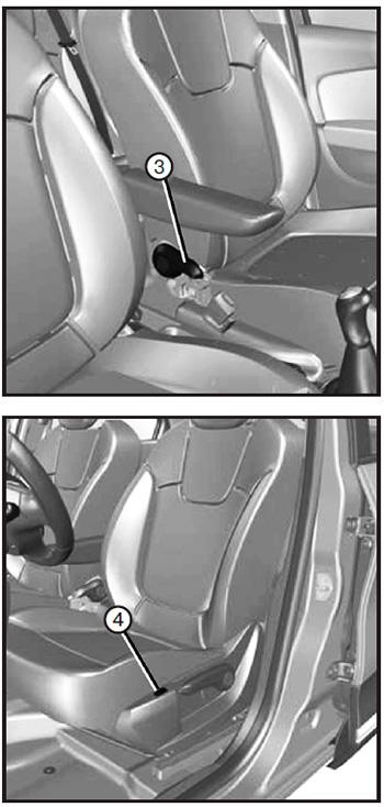 Рычаг Renault Kaptur с 2020 года
