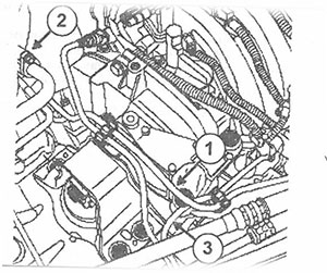 Топливопровод Renault Logan