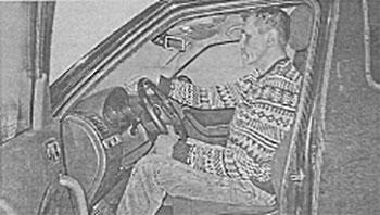 Посадка за рулем Skoda Yeti