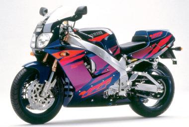 описание, характеристики, Yamaha YZF750