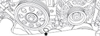 Натяжитель ремня Subaru XV