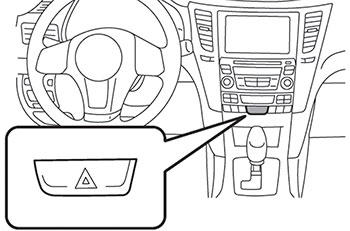 Парковка Subaru Legacy