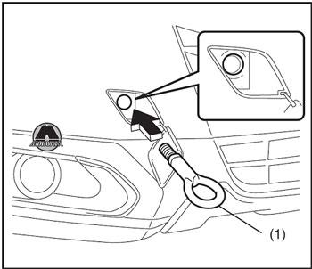 Буксирный крюк Suzuki New SX4