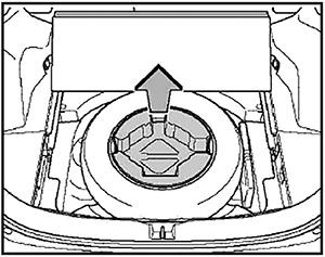 Держатель домкрата Toyota Rav4