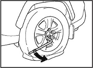 Гайки колеса Toyota Rav4