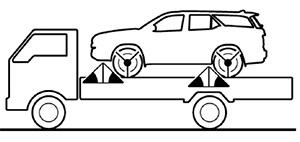 Крепления автомобиля Toyota Fortuner
