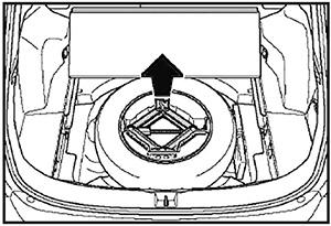 Панель настила Toyota Rav4