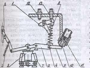 регулятор двигателя тракторов Т-40М. регулятор двигателя тракторов Т-40АМ, регулятор двигателя тракторов Т-40АНМ