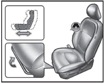 Передние сиденья Lada Vesta