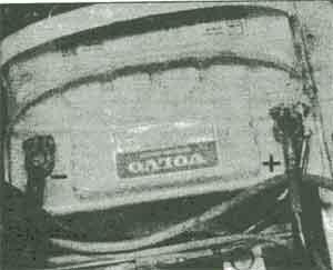 аккумулятор Volvo 740, аккумулятор Volvo 760