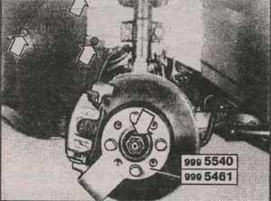 центральная гайка ступицы колеса Volvo 850