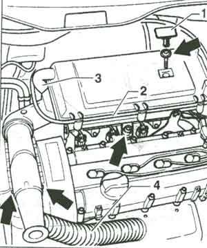 корпус фильтра Volkswagen Golf IV, корпус фильтра Volkswagen Bora